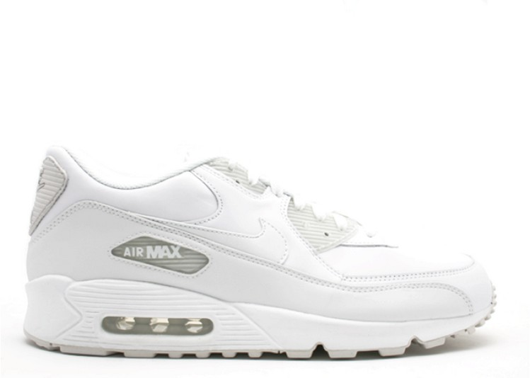 outlet store sale best cheap outlet for sale Acheter Nike Air Max 90 Cuir Blanc-Blanc 302519-113