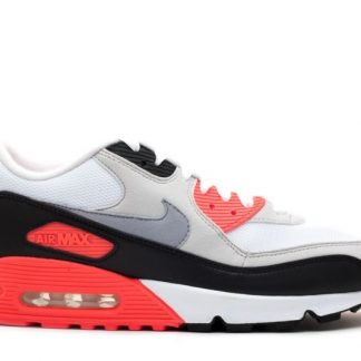 super popular c4bc1 5aec4 Acheter Nike Air Max 90 Infrarouge 325018-107 Ciment Blanc Gris Infrarouge  Noir
