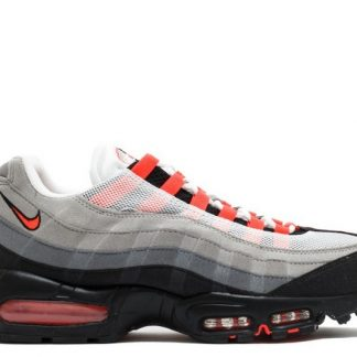 air max 95 blanche rouge
