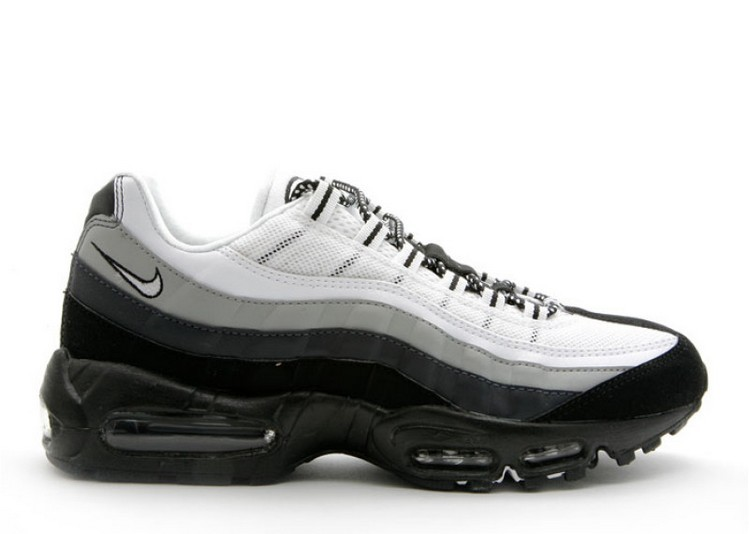 coupon code lowest price latest design Acheter Nike Air Max 95 noir et blanc anthracite 609048-017