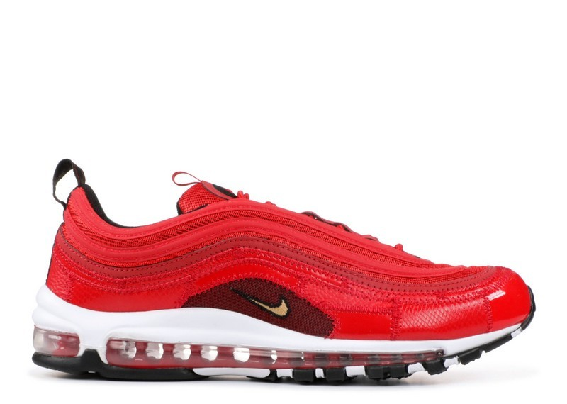 Acheter Nike Air Max 97 Cr7 Cristiano Ronaldo Portugal Patchwork aq0655-600  Université Rouge Métallisé Or