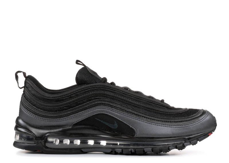 921826 005 Nike Air Max 97 Noir Anthracite Metallic