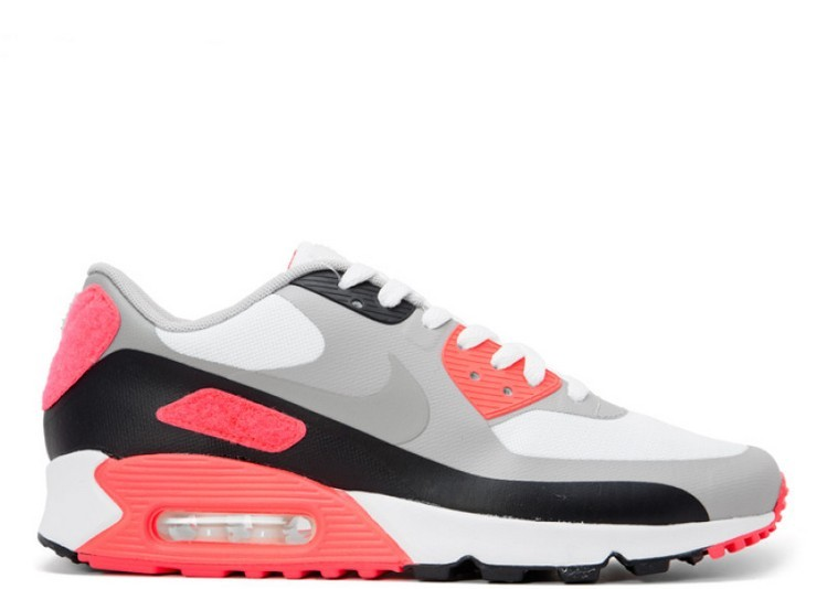 Plâtre infrarouge Nike Air Max 90 SP 746682 106 blanc froid gris infrarouge