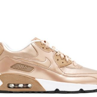 sports shoes e3e5f ae107 Pour vente nike air max 90 montre cuir gs metal bronze 859633-900 metal  rouge bronze