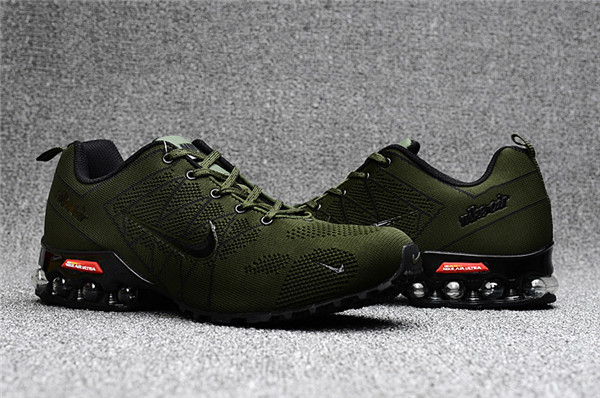 Soldes Chaussures de course Nike Air Max 2018 Ultra Zoom Army Green Black