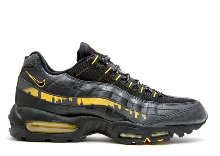 pas mal 0dec5 ef693 Soldes Paquet Nike Air Max 95 Premium New York City NYC Noir 330795-001  Maïs Noir-Varsity